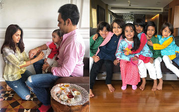 Riteish And Genelia Deshmukh Share Pictures Of Their 'Deshmukh' Style Rakshabandhan