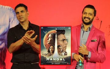 Riteish Deshmukh Appreciates Akshay Kumar's Marathi Poetry From 'Mission Mangal'