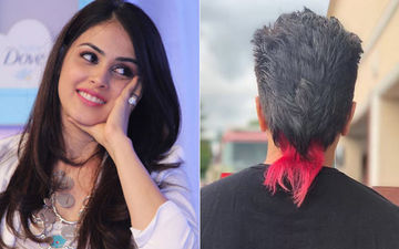 Riteish Deshmukh Goes For A Makeover; Wife Genelia Surprised By His 'Red Squirrel Tail'