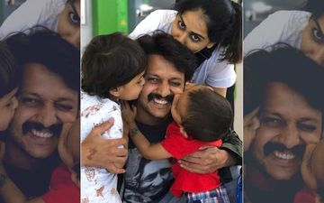 Riteish Deshmukh Birthday: Wife Genelia Deshmukh Posts An Adorable Picture; Calls Him, 'Forever Mine'
