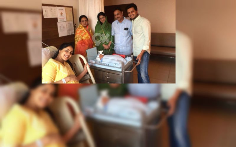 First Glimpse Of Ritesh & Genelia's Baby