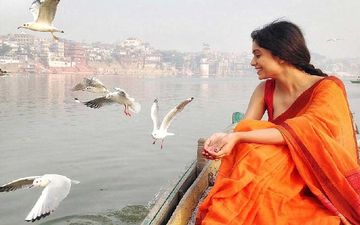 Ritabhari Chakraborty's Pictures With Serbian Birds In Varanasi Will Give You Major Travel Goals