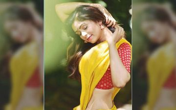 Actress Ritabhari Chakraborty Is Slaying In A Yellow Coloured Saree