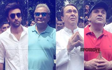 RK Studios' Ganpati Last Visarjan: Ranbir, Rishi, Randir, Rajiv Kapoor Bid Goodbye To Elephant God
