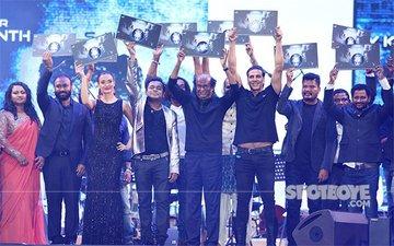 Akshay Kumar, Rajinikanth & Amy Jackson At The Music Launch Of 2.O In Dubai