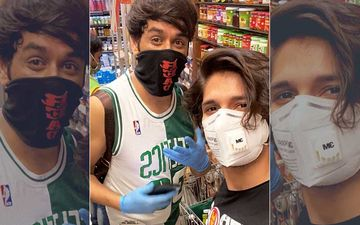 Bigg Boss 11 Mini Reunion: A Masked Rohan Mehra Bumps Into Mastermind Vikas Gupta While Grocery Shopping