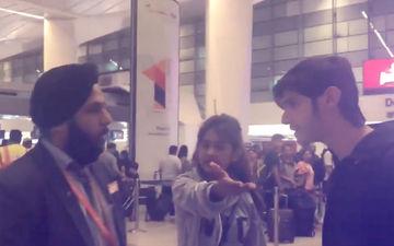 महिला को-पैसेंजर के साथ बदतमीजी होते देख एयरलाइन स्टाफ पर भड़के रोहन मेहरा
