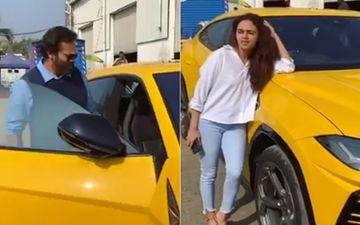 Khatron Ke Khiladi 10: Amruta Khanvilkar Flaunts Her Lamborghini; Rohit Shetty Hilariously Bursts Her Bubble -VIDEO