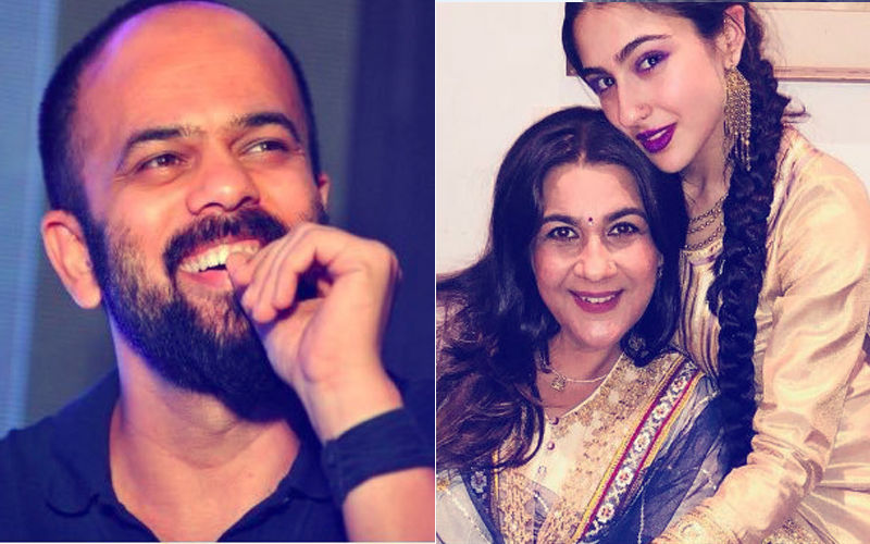 Watch: What Happened When Rohit Shetty Called Sara Ali Khan, Amrita Singh