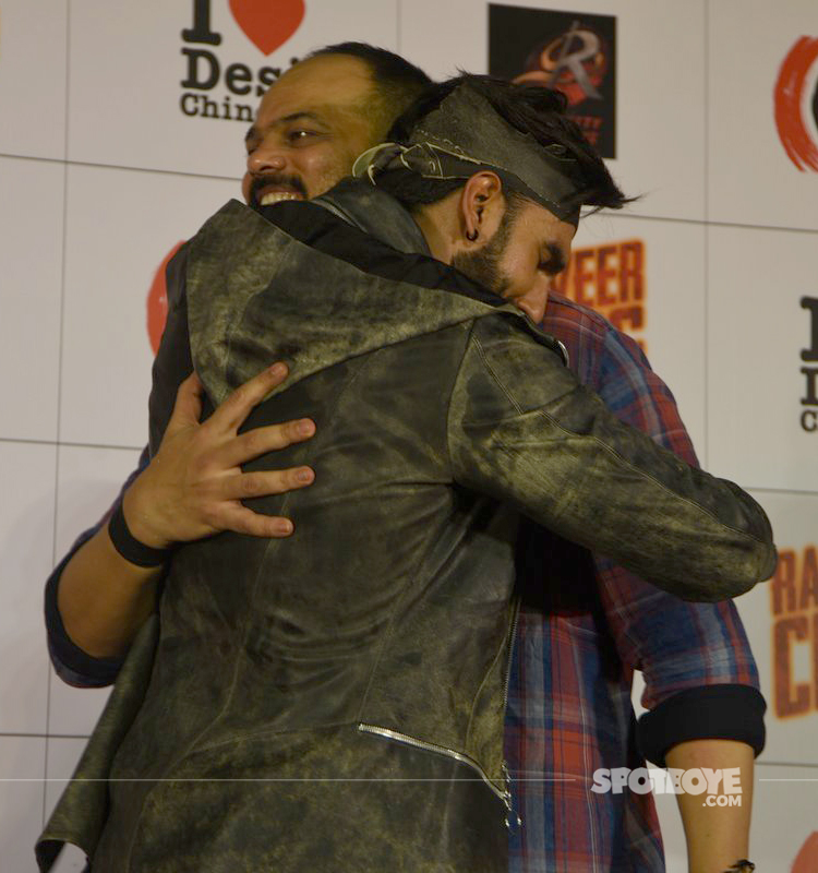 rohit shetty with ranveer singh