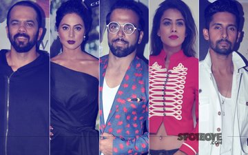 Rohit Shetty, Hina Khan, Rithvik Dhanjani, Nia Sharma, Ravi Dubey Attend Khatron Ke Khiladi 8 Screening