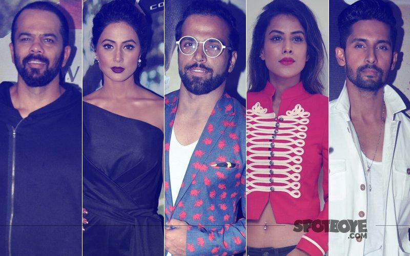 Rohit Shetty, Hina Khan, Rithvik Dhanjani, Nia Sharma, Ravi Dubey Attend Khatron Ke Khiladi 8 Screening