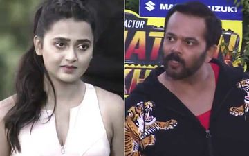 Khatron Ke Khiladi 10: After Rohit Shetty Bashes Tejasswi Prakash Fans Pour In Support; Say 'She Is Taking A Stand Against Favoritism'