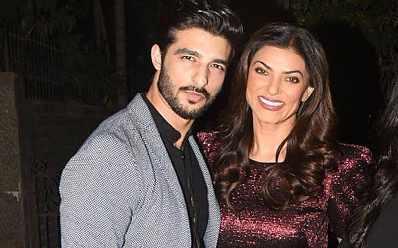 "Rohman Shawl Says, ""I Love You"" To His ""Jaan"" Sushmita Sen On Her 43RD Birthday"