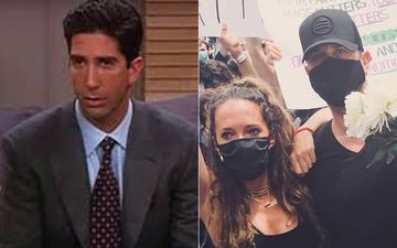 George Floyd Death: FRIENDS Star Ross Geller Aka David Schwimmer Takes To The Streets To Protest With His Ex-Wife Zoe Buckman- WATCH