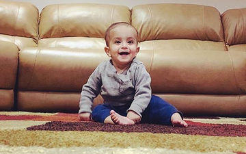 Rosshan Prince Shares An Adorable Picture Of His Little Munchkin On Insta