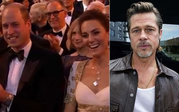 BAFTA 2020: Brad Pitt Jokes About Royal Family, Leaving Prince William And Kate Middleton Laughing Awkwardly