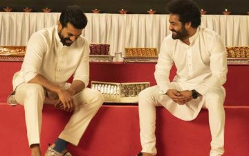 Diwali 2020: Team RRR Has A Delightful Wish For Fans; Makers Share Candid Pictures Of Jr NTR And Ram Charan On The Auspicious Occasion