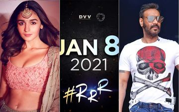 RRR: Alia Bhatt- Ajay Devgn's South Film With Jr NTR And Ram Charan Postponed; Makers Confirm New Release Date