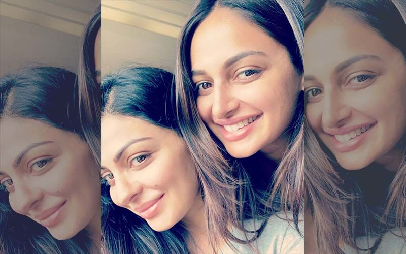 Sister Goals! Rubina And Neeru Bajwa Are All Smiles In The Latest Insta Picture
