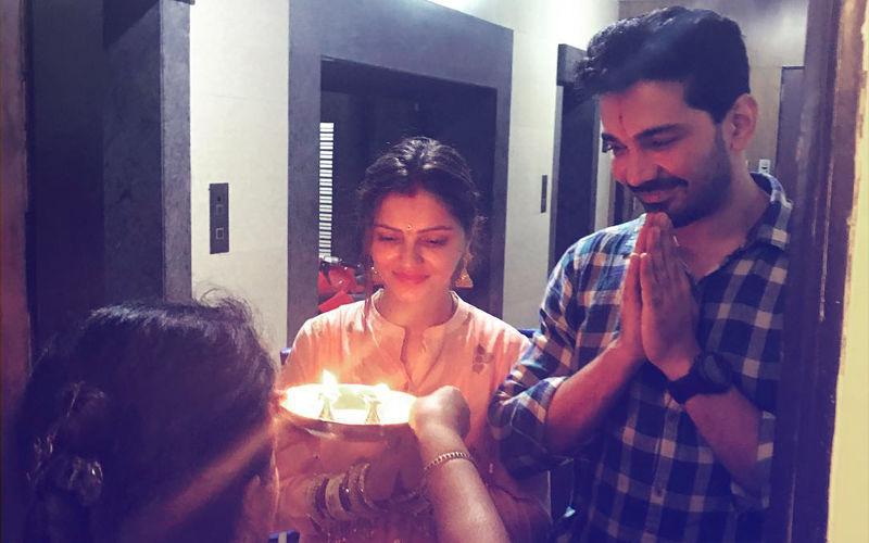 Pic: Newlyweds Rubina Dilaik & Abhinav Shukla Enter Their Love Paradise...