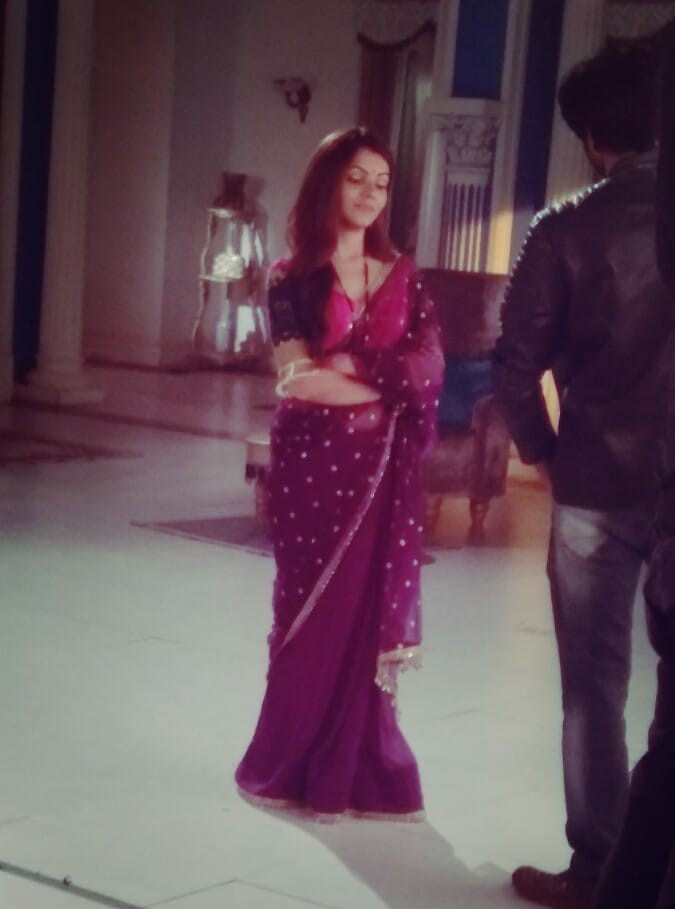 rubina at set