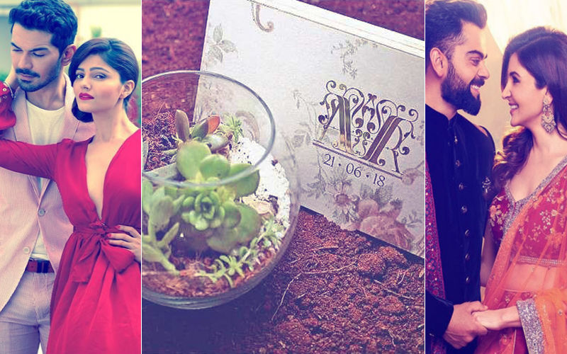 Wedding Card: Rubina Dilaik & Abhinav Shukla Go The Virushka Way!