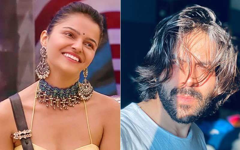 Bigg Boss 14 Winner Rubina Dilaik Finds Kartik Aaryan; Netizens Wants Her To Be Paired Opposite The Actor