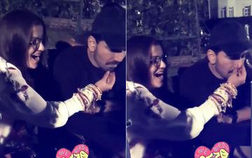 Watch: Rubina Dilaik Aka Mrs Shukla Sings 'Dil Diya Gallan' For Hubby, Abhinav
