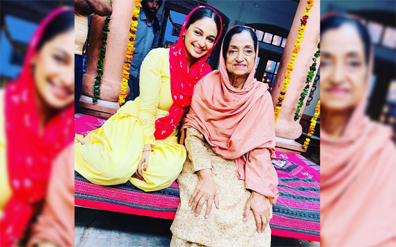 Munda Hi Chahida: Rubina Bajwa Shares BTS Pic With Veteran Actress Jatinder Kaur