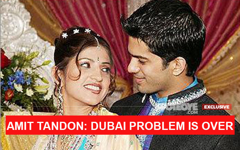 Amit Tandon's Wife Ruby's Dubai Jail Ordeal Ends Fully, Flies Out To Be With Her Mother