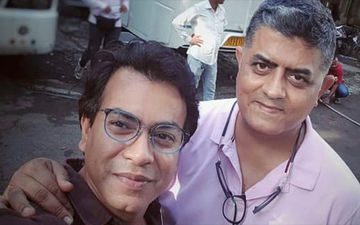 Maidaan: Bengali Actor Rudranil Ghosh Starts Shooting For Ajay Devgn's Film, Shares Picture With Co-Star Gajraj Rao