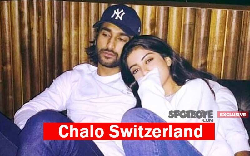 Rumoured Couple Navya Naveli-Meezaan Fly Out For A Swiss Vacay With Pals- EXCLUSIVE