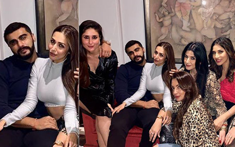 Arjun Kapoor And Malaika Arora Cosy Up At Maheep Kapoor's Bash, Hinting The Obvious
