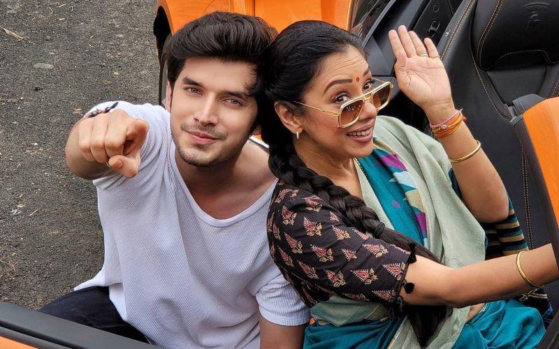 Anupamaa Actress Rupali Ganguly Bonds With Reel-Life Son Paras Kalnawat; Lovingly Calls Him 'Laddooram' - PIC
