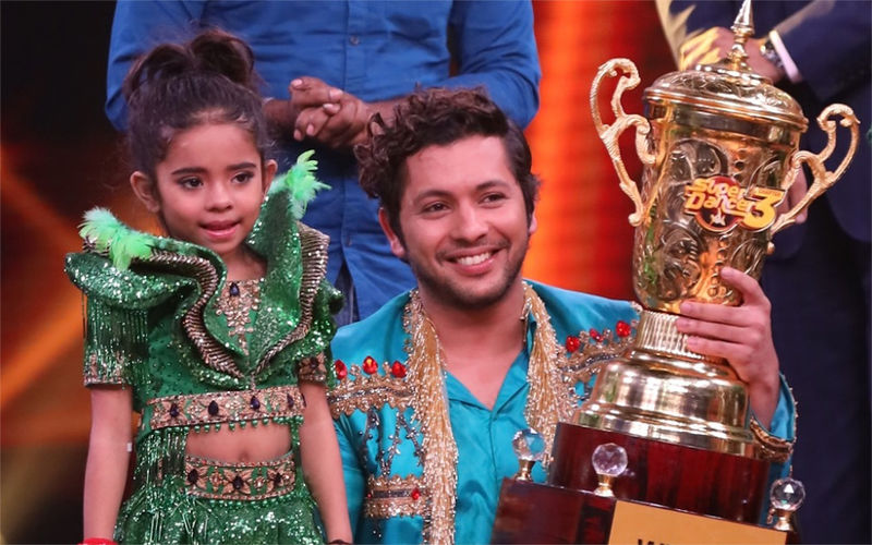 Rupsa Batabyal From Kolkata Lifts Super Dancer 3 Trophy