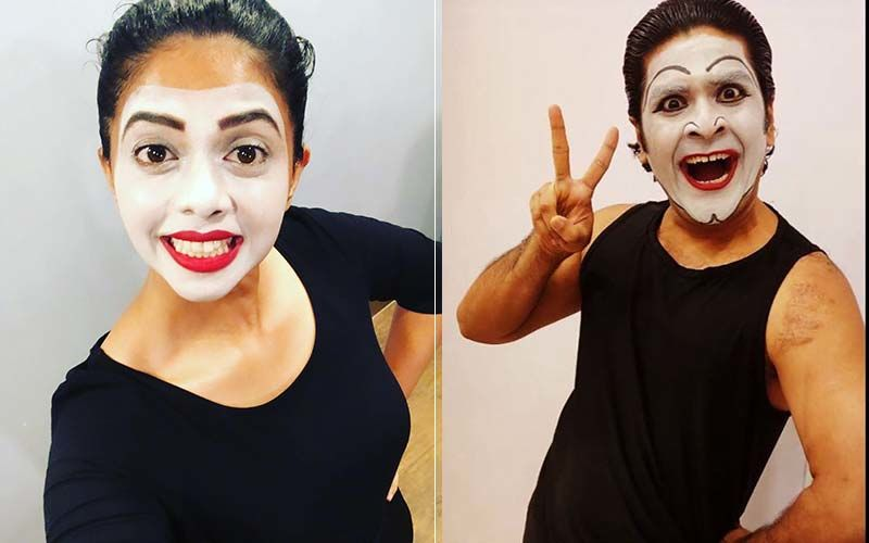 Rutuja Bagwe, Shubhankar Tawde And Other Perform Mime In An OMT Play