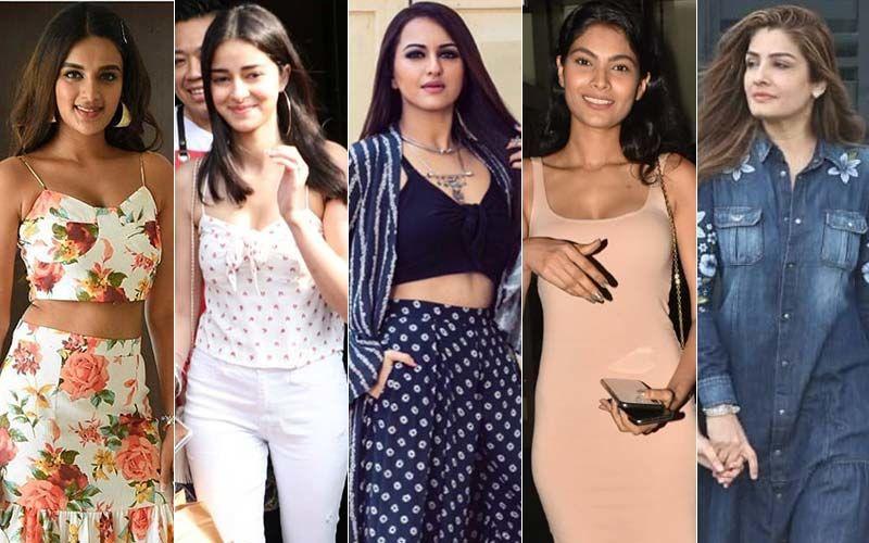 STUNNER OR BUMMER: Nidhhi Agerwal, Ananya Panday, Sonakshi Sinha, Lopamudra Raut Or Raveena Tandon?