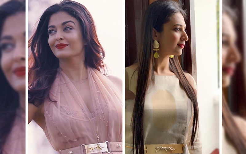 Divyanka Tripathi Accused Of Blatantly Copying Sabyasachi's Signature Tiger Belt