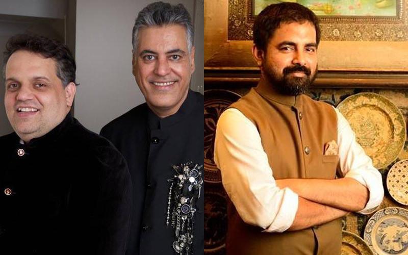 Designers Abu Jani Sandeep Khosla And Sabyasachi Mukharji