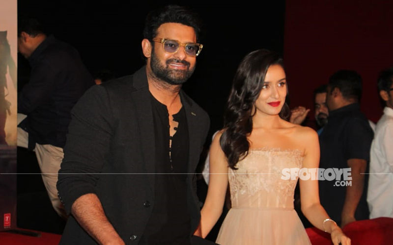 Saaho Trailer Launch: Prabhas And Shraddha Kapoor Make A Dashing Entry At The Grand Mumbai Event- View Photos