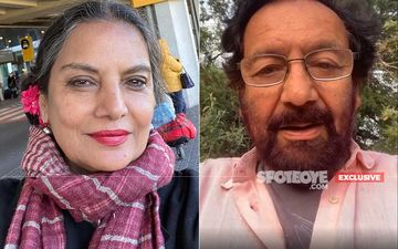 Shabana Azmi And Shekhar Kapur Reunite After 38 Years; Start Filming For The Rom-Com 'What's Love Got To Do With It' In London-EXCLUSIVE