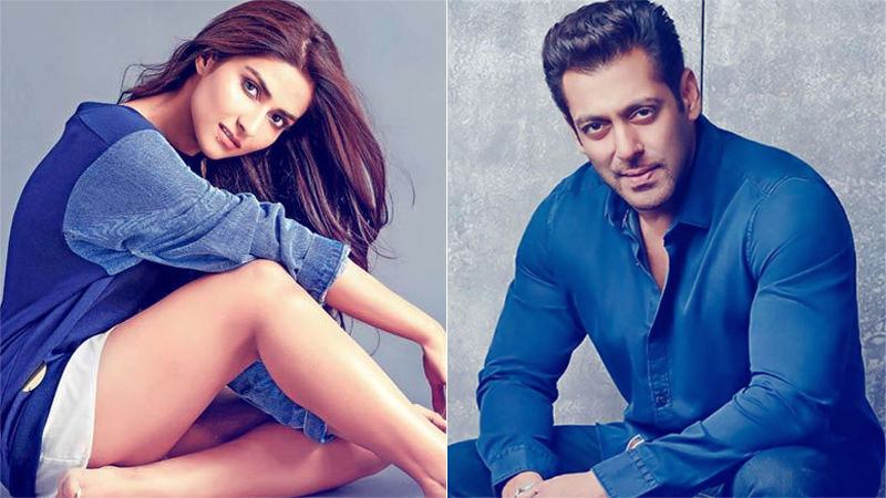 Salman Khan Introduces Nutan's Granddaughter, Pranutan Bahl; To Launch Her Opposite Zaheer Iqbal