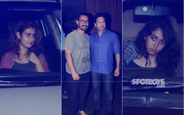 Sachin-Anjali Tendulkar, Ira Khan & Fatima Shaikh's Late Night Party At Aamir Khan's House