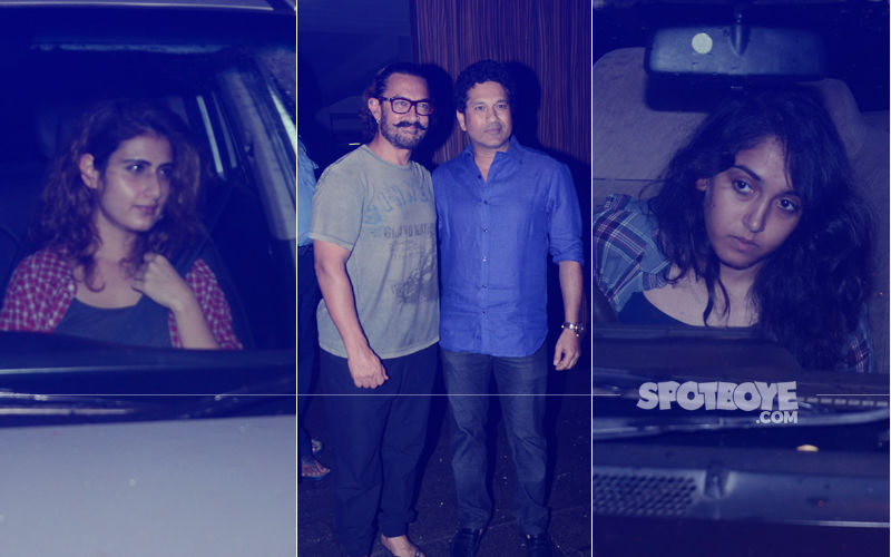 Sachin-Anjali Tendulkar, Ira Khan & Fatima Shaikh's Late Night Party At Aamir Khan's House