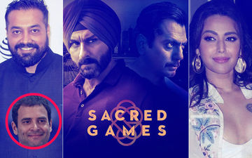 सैक्रेड गेम्स के साथ खड़े हुए राहुल गांधी, अनुराग कश्यप सहित कई बॉलीवुड सेलेब्स ने की तारीफ