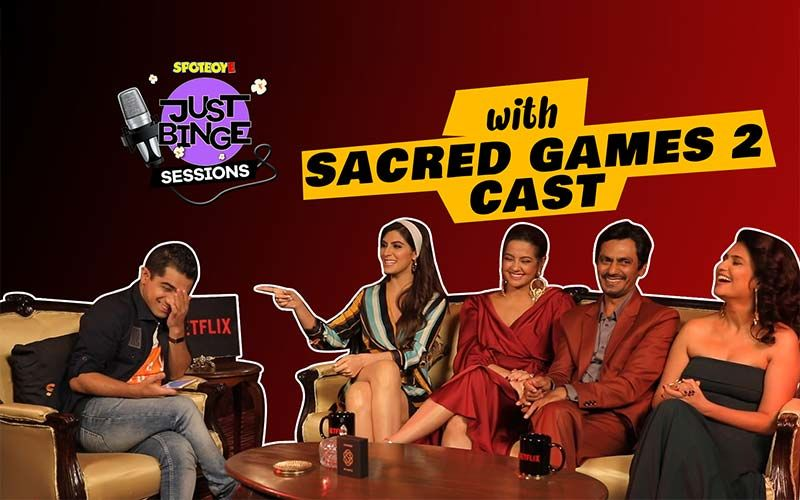 Sacred Games 2 Actors Nawazuddin Siddiqui, Surveen Chawla, Amruta Subhash & Elnaaz Nourozi Get Candid- WATCH EXCLUSIVE INTERVIEW