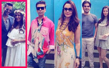 Neha Dhupia's Baby Shower: Karan Johar, Preity Zinta, Arbaaz Khan- Georgia Andriani Attend