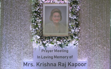 Krishna Raj Kapoor Prayer Meet LIVE Updates: Bollywood Celebs Pay Tribute To Raj Kapoor's Wife