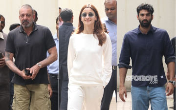 Sadak 2: Alia Bhatt's Latest Outing Reminds Us Of Jeetendra As She Gets Papped With Aditya Roy Kapur And Sanjay Dutt
